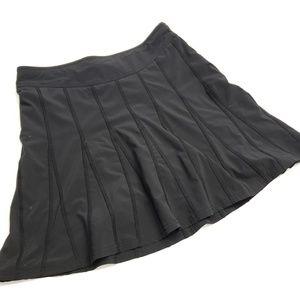 Athleta tie waist accordion skirt